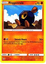 Roggenrola 69/149  Pokemon TCG Sun & Moon Single Card