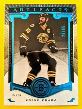 🌟 ZDENO CHARA /85 ARTIFACTS 🌟 RARE SAPPHIRE BLUE 2015-16 #76 BOSTON BRUINS🔥🏒