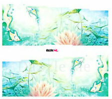 Nail Art Sticker Water Decals Transfer Decorative Art Tropical Sea Bed (DC202)