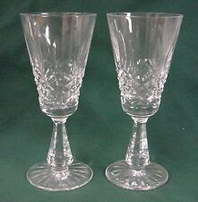 Waterford Crystal KENMARE (CUT) Sherry Stems SOLD IN PAIRS Multiple Available