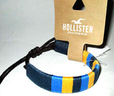 MENS HOLLISTER CALIFORNIA ADJUSTABLE BRACELET