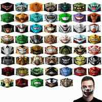 Funny Reusable Washable Face Mask Half Face Mouth Mark Cospaly Party Facemask