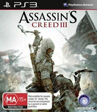 Assassins Creed 3 III PS3 Game USED