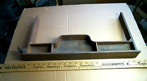 Singer Sewing Machine Quarter Sawn Oak Treadle CENTER DRAWER antique vintage old