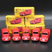 CIJ 1:43 DAN Toys CITROEN 2CV FOURGONNETTE ESPAGNOLE Postal Car Blue/Red Diecast