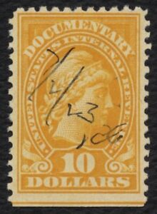 #R245 $10 Documentary: Liberty, Used [9] **ANY 5=FREE SHIPPING**