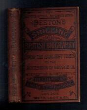 Beeton's British Biography from the Earliest Times. Ward, Lock. 1870 Good