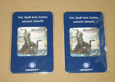 2 x Assassin's Creed 3 III rare promo screen / display cleaner