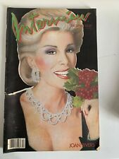 ANDY WARHOL INTERVIEW DEC 1984/ JOAN RIVERS/ KEITH HARING/ PHILIP JOHNSON