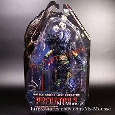 "NECA Battle Armor Lost Predator 2 Borg Green 7"" Action Figure Series 11 New"