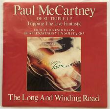 PAUL McCARTNEY / LONG AND WINDING ROAD / SPAIN EMI 1990