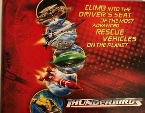 Thunderbirds Movie Pressbook 2004. Bill Paxton Anthony Edwards Free Shipping