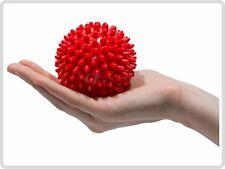 Igelball ø 9 cm  Massageball Noppenball , Farbe: rot