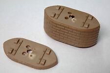 1/87ème HO : 2 PILIERS DE PONT DE 0,5 et 3 centimètres  DE HAUT - NOCH Modell