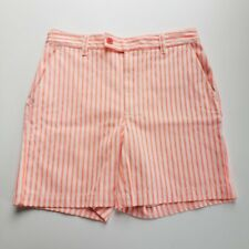 Marc by Marc Jacobs Striped Shorts | Electric Orange | NWT