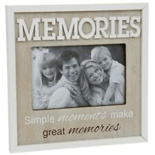 4x6 enjoy memories family picture photo frame gift shabby chic vintage retro