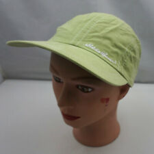 Eddie Bauer Hat Green Stitched Fitted Size Baseball Cap Pre-Owned ST231