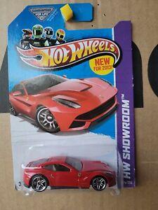 Hot Wheels 2013 - FERRARI F12 BERLINETTA [RED] VHTF NEAR MINT *COMBINED POST