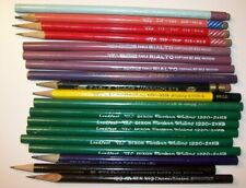Lot of 19 Vintage Pencils, Some HTF (Dixon, Eagle, Eberhard Faber, Hardtmuth)