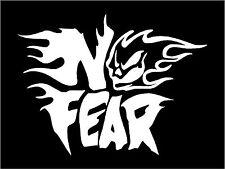 noir No fear autocollant décalque graphique vinyle étiquette V1