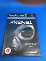 Playstation 2 Game | Area 51 | PS2 | Sony | Complete With Manual