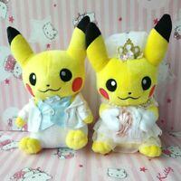 Original Plush Toy Pikachu Precious Wedding 2pcs
