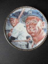 "MICKEY MANTLE  SPORTS IMPRESSION  MINI PLATE 4 1/4"" NEW YORK YANKEES"