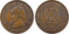 Napoléon III, module 2 francs satirique, guerre 1870, hibou -  7