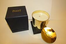 NEW Very Rare Gold Lidded PIAGET Bougie Perfumee Scented Candle ONLY ONE ON EBAY