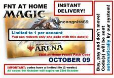 MAGIC MTGA MTG Arena Code FNM Home Promo Pack OCT OCTOBER 9 09 INSTANT EMAIL