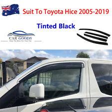 Injection Weathershields Door Visor Window Visor for Toyota Hiace 2005-2019