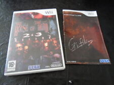 WII WII THE HOUSE OF THE DEAD 2 & 3