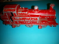Vintage Budgie Toy Train British Railways RARE