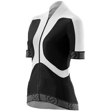 Skins Cycle Women's Tremola Jersey Short-sleeve Black/White Large