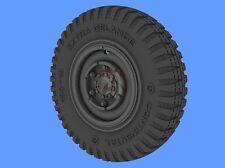 Panzer Art 1/35 Horch 108 Typ 1a Road Wheels WWII (Gelande) (6 pieces) RE35-286