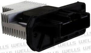 HVAC Blower Motor Resistor Front WVE BY NTK 4P1558