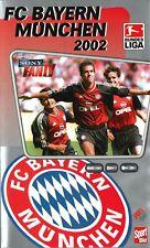 VHS FC Bayern München 2002 Kahn Scholl Elber Santa Cruz Video Videokassette Neu