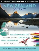 New Zealand Journey Travel Colouring Book for Adults