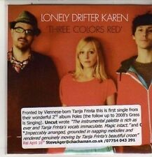 (DB910) Lonely Drifter Karen, Three Colors Red - 2012 DJ CD