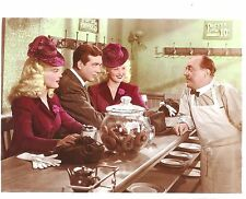 """BETTY GRABLE, JUNE HAVER & JOHN PAYNE in """"The Dolly Sisters"""" Original Vint. 1945"""