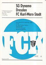 OL 80/81 FC Karl-Marx-Stadt - SG Dynamo Dresden