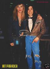 RIKKI ROCKETT & MARK SLAUGHTER PINUP metal 90's Poison
