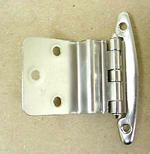 "H00930-SN 3/8"" Self Closing Inset Hinge W/O Spring Satin Nickel 2"