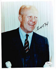 GERALD FORD SIGNED  PHOTO AUTOGRAPHED PRESIDENT JSA P70639