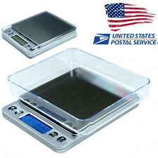 US Digital Jewelry Precision Scale LCD display w/ Piece Counting ACCT-500 .01 g