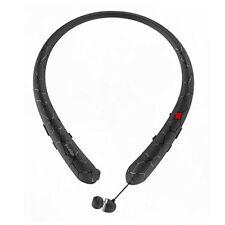 ❤ Rioddas Wireless Headphones Retractable Earbuds Sport Neckband Bluetooth Headp