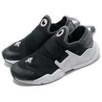 Nike Huarache Extreme SE GS Black Silver Grey Kid Women Slip On Shoes AQ7936-002