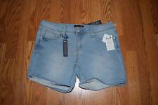 NWT Womens Seven 7 Powell Blue Denim Shorts Size 12 $49