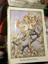 1995 Flower Fairies Cicely Mary Barker Poster Set Of 4 Sealed