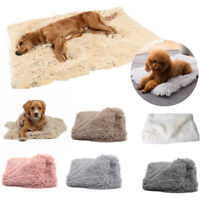 Sleeping Plush Cat Soft Pet Kennel Dog Cushion Mat Pet Supplies Pet Blanket